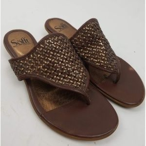 Sofft Woven Thong Sandals